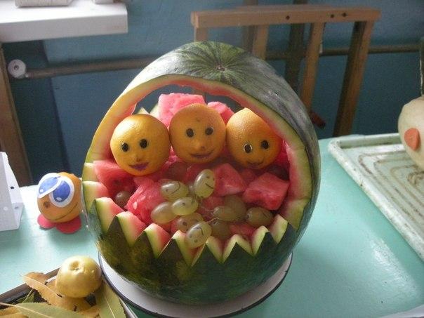 Поделка торт из овощей 30